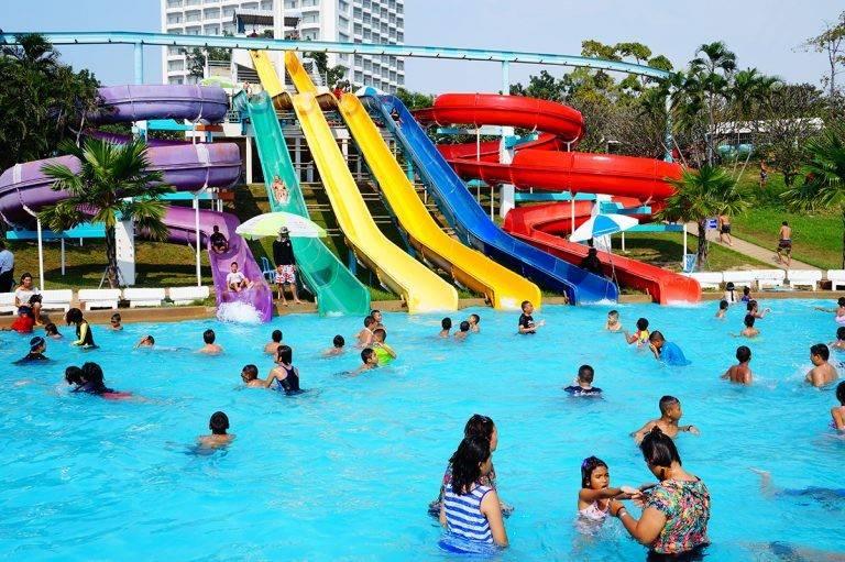 Pattaya Water Park เที่ยวชิล ๆ ดับร้อนที่พัทยาเหนือ อำเภอบางละมุง จังหวัดชลบุรี