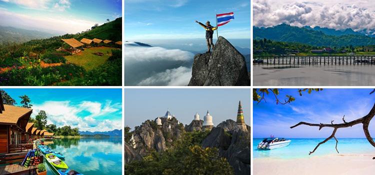 ท่องเที่ยวในไทย กับ 4 จังหวัดในไทย เที่ยวได้ทั้งปี ไม่มีเบื่อแน่นอน จะมีจังหวัดอะไรบ้างไปดูกัน