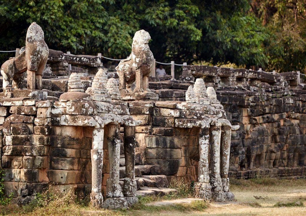 นครธม เมืองแห่งประวัติศาสตร์โลก สถานที่เที่ยวของกัมพูชา